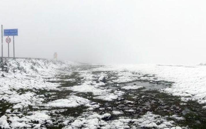 Ardahan'da kar yağışı yaylacılara zor anlar yaşattı