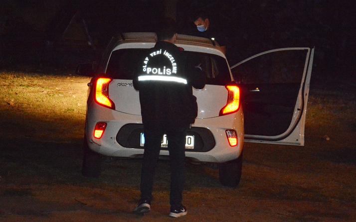 İstanbul Kağıthane'de bekçi kız arkadaşına otomobil içinde kurşun yağdırdı!