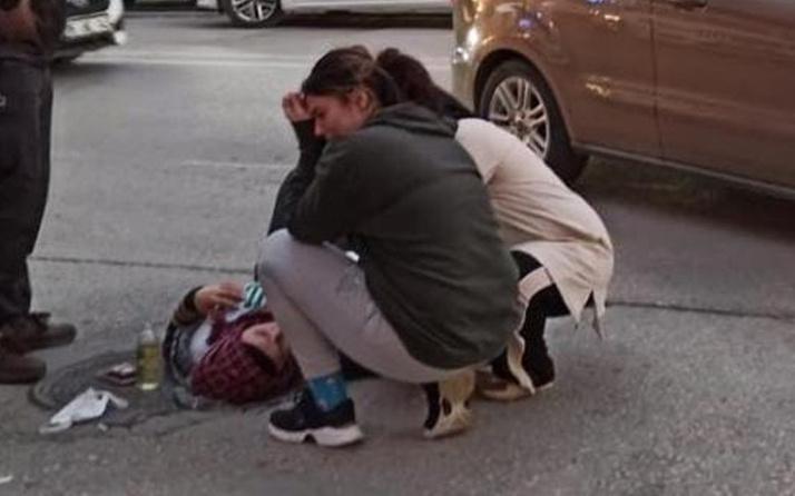Bursa'da yürek dağlayan an! Annesinin başında gözyaşı döktü