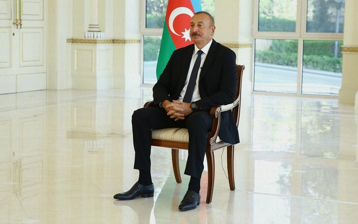 Karabağ'ı anlatan Azerbaycan Cumhurbaşkanı İlham Aliyev'n gözleri doldu