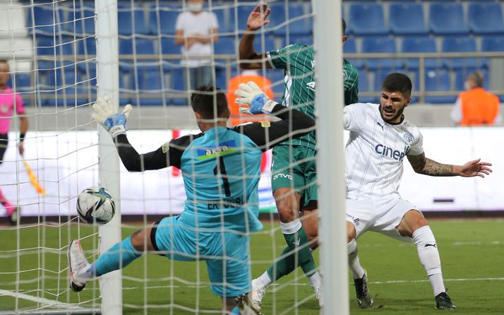 Kasımpaşa ile Konyaspor berabere kaldı