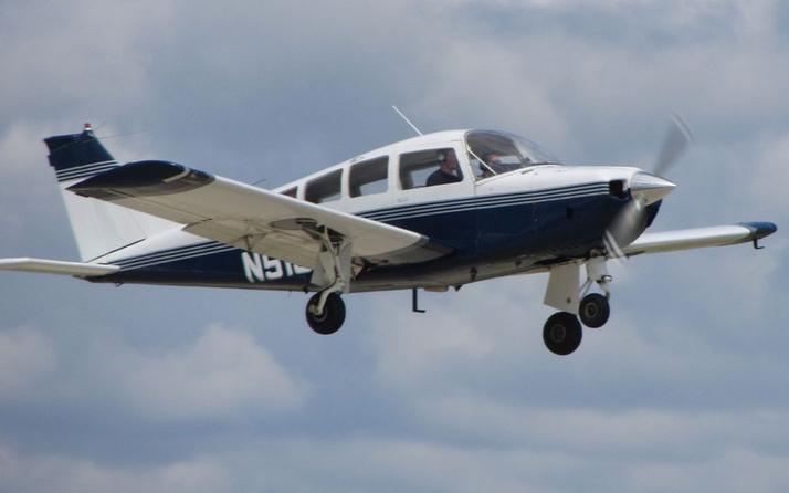 ABD'de düşen tek motorlu küçük uçaktaki 3 kişi hayatını kaybetti