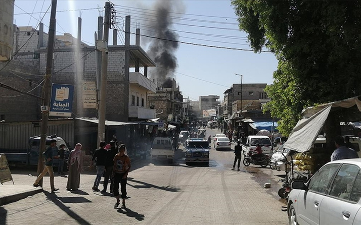 Milli Savunma Bakanlığı duyurdu! Fırat Kalkanı bölgesinde bombalı saldırı