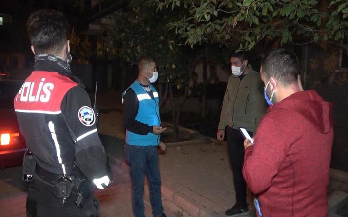 Kırıkkale'de çöp atmak için karantinayı deldi! 4 bin 50 lira ceza yedi