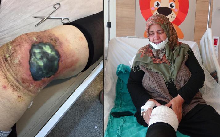 Erzurum'da toz haline getirip dizine koydu! 30 dakika sonra hayatı karardı