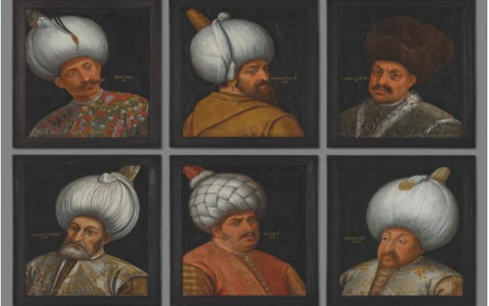 6 Osmanlı padişahının portresi satışa sunuldu! İşte biçilen değer...