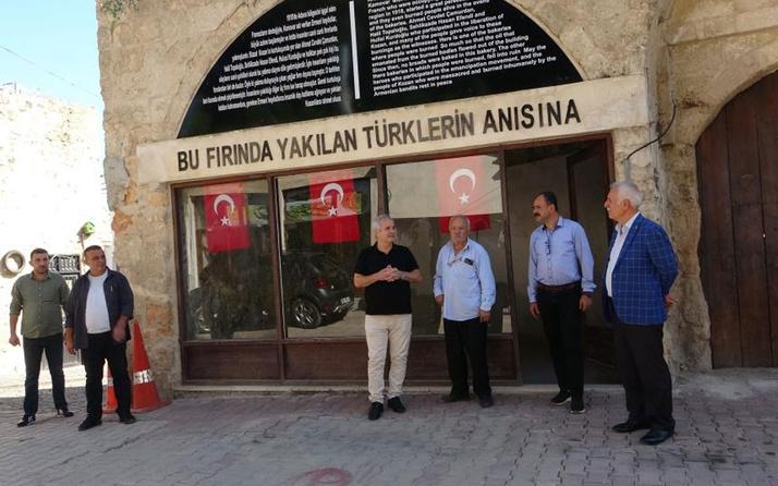 Ermenilerin Türkleri yaktığı fırın ziyarete açıldı