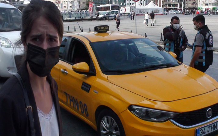 İstanbul'da taksici uzak mesafeyi bahane etti! Ceza yemekten kurtulamadı
