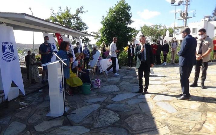 Bodrum'da Cevat Şakir Kabaağaçlı'yı anma töreninde kriz çıktı! Kaymakam alanı terketti