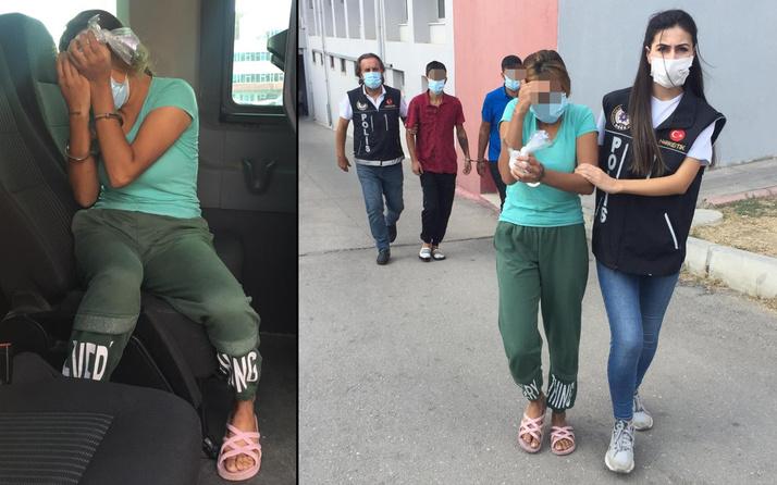 Adana'da kocasını kurtarmak istedi! Kadının iç çamaşırından bakın ne çıktı