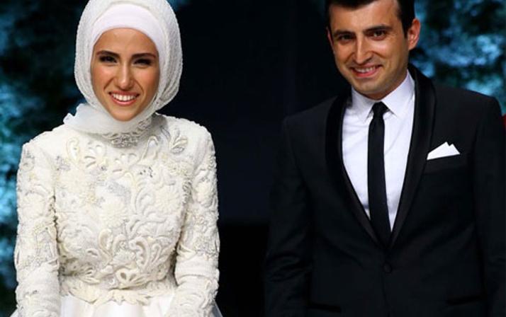 Sümeyye Erdoğan ve eşi düğünden sonra ilk kez yan yana görüntülendi