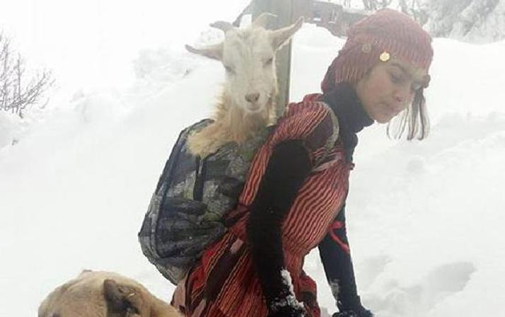 Çoban Kız Hamdu Sena Saray'a davet edildi