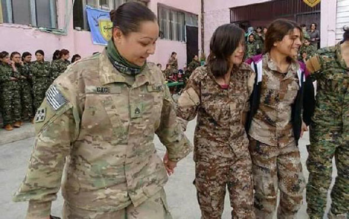 Menbiç'te PKK-ABD halayı! Halay başı da...