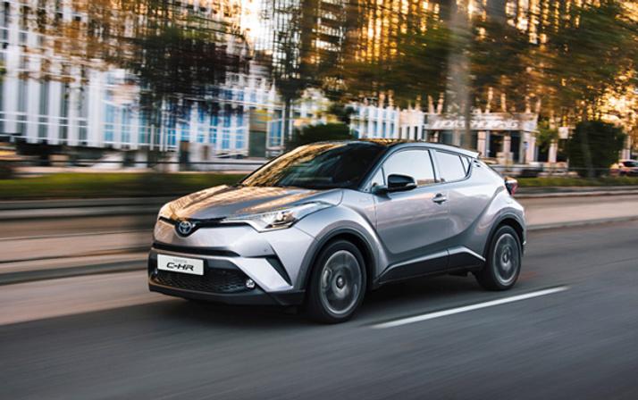 Toyota C-HR test sürüşü günleri başlıyor