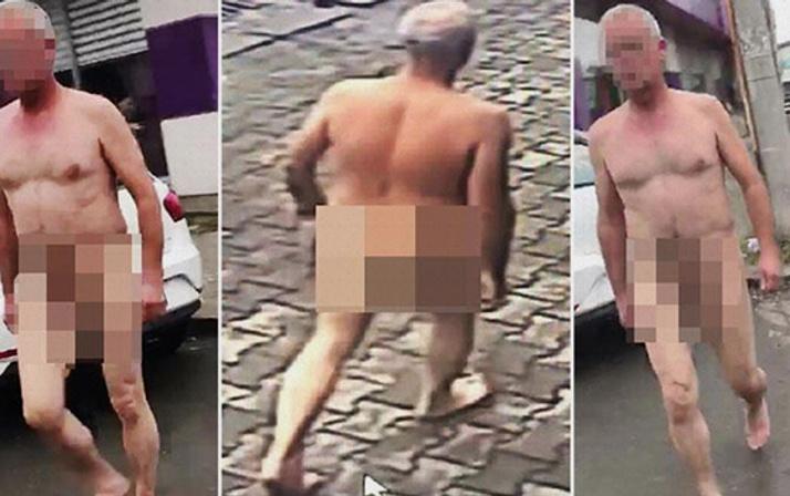 Sakarya'da herkesi şaşkına çevirdi sokaktaki çıplak adam neyin nesi