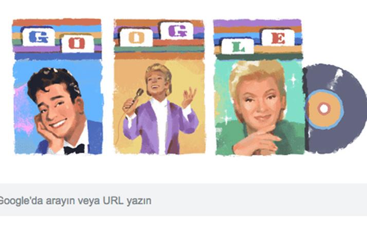 Google'dan Zeki Müren'e özel Doodle
