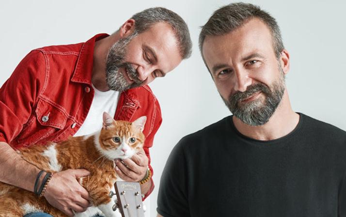 Emre Arslan 'Ah Bir Kedi Olsam' dedi sevimli dostlara umut ışığı oldu