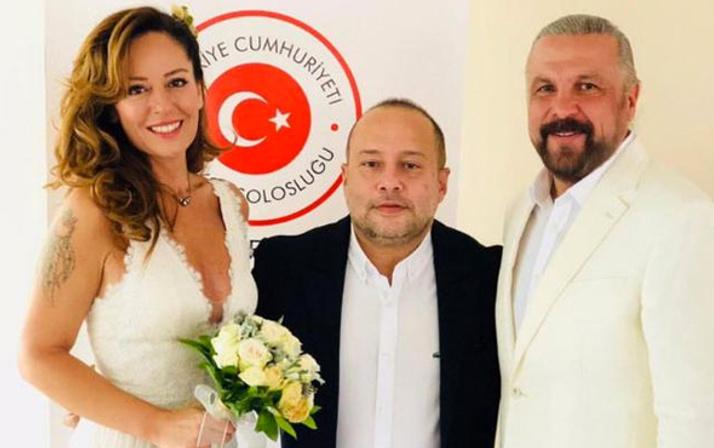 Güvenlik Uzmanı Mete Yarar Gülnaz Kudunoğlu'yla evlendi