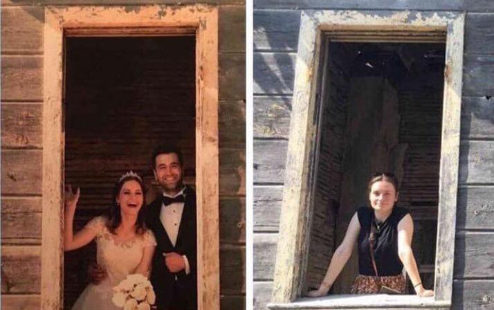 Şehit eşi düğün fotoğraflarını yeniden çektirdi! Ama bu kez yalnız...