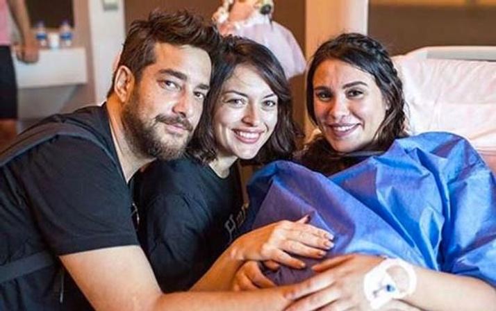 Şükran Ovalı doğum fotoğraflarını paylaştı dikkat çeken ayrıntı!