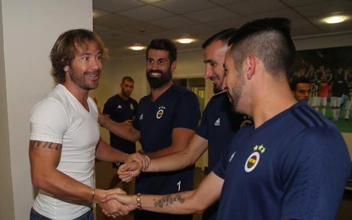 Diego Lugano Fenerbahçe'yi neden ziyarete geldiğini anlattı