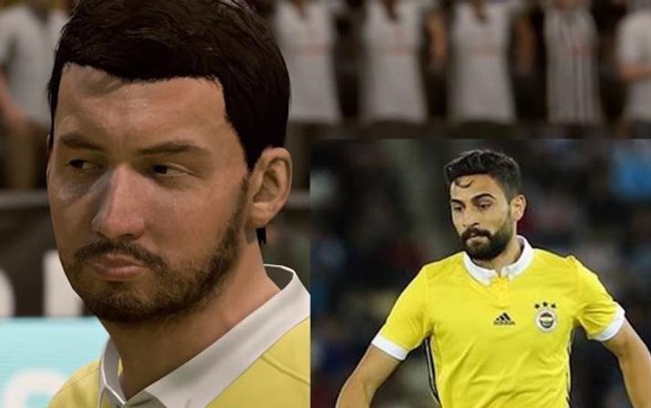 FIFA 19'da Süper Lig oyuncularının suratları şaşırttı!