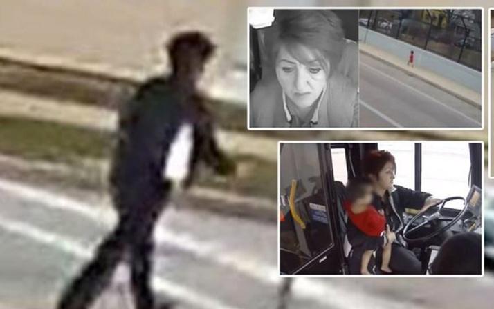 Kaybolan bebeğin imdadına kadın otobüs şoförü yetişti!