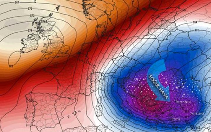 İstanbul'da karın yağacağı tarih belli oldu 'Sibirya Ekspresi' uyarısı geldi