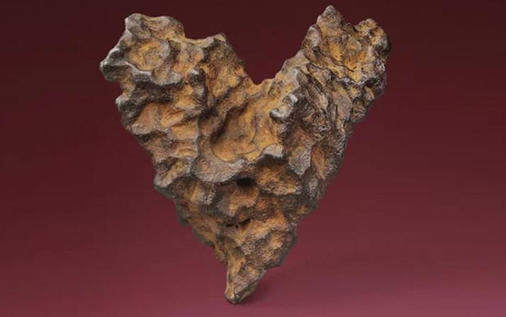 Tam 4,5 milyar yıllık meteor taşı Sevgililer Günü için rekor fiyata satışta