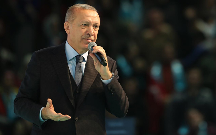 Cumhurbaşkanı Recep Tayyip Erdoğan Ankara'da konuştu