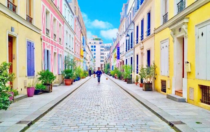 Paris'teki Cremieux Sokağı sakinleri instagramdan bıktı