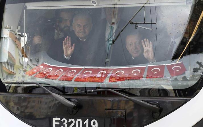 Cumhurbaşkanı Erdoğan Gebze-Halkalı tren hattını açtı artık 1 saat 10 dakika