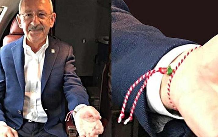 Kılıçdaroğlu taktığı bilekliğin sırrını açıkladı