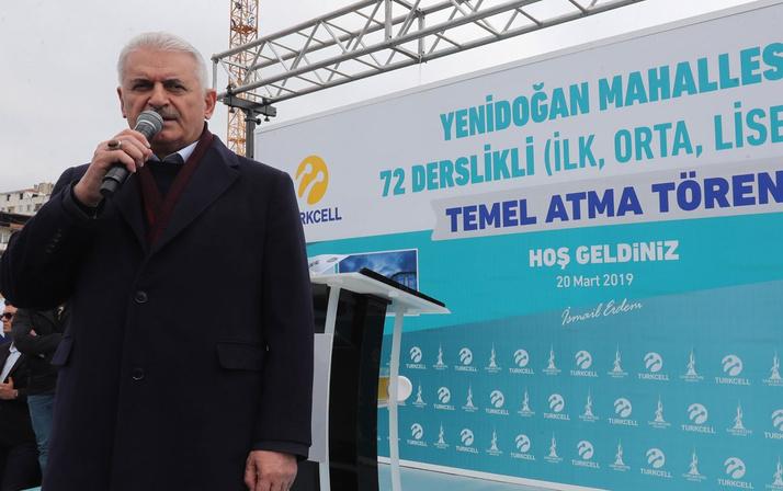 """Binali Yıldırım """"Sancaktepe, Türkiye'nin en büyük hastanesine sahip olacak"""