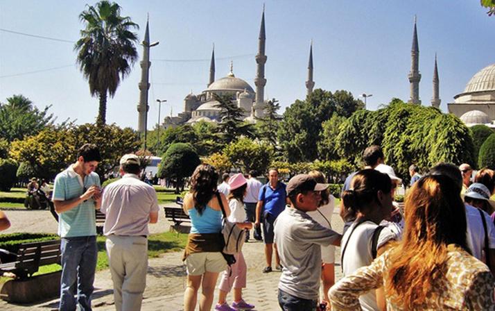 Turist sayısı Şubat ayında arttı