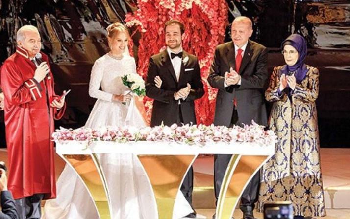 Cumhurbaşkanı Erdoğan nikah şahidi oldu Yelda Demirören ve Haluk Kalyoncu evlendi