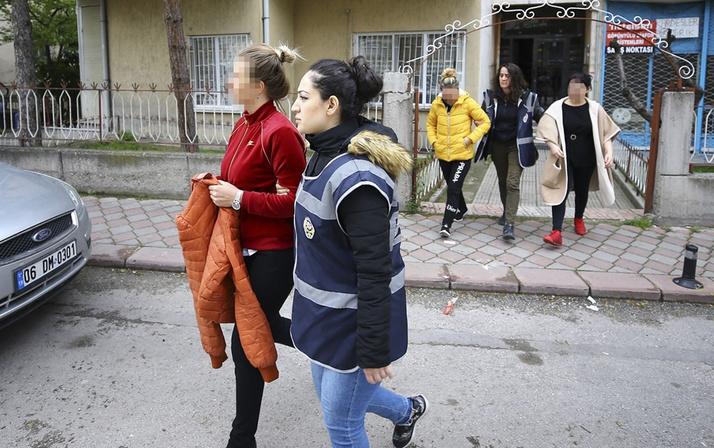 Ankara'da fuhuş operasyonu cezaevi detayı şaşırttı