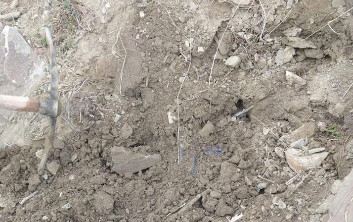 Van'da operasyon jandarmanın kazdığı araziden neler çıktı neler