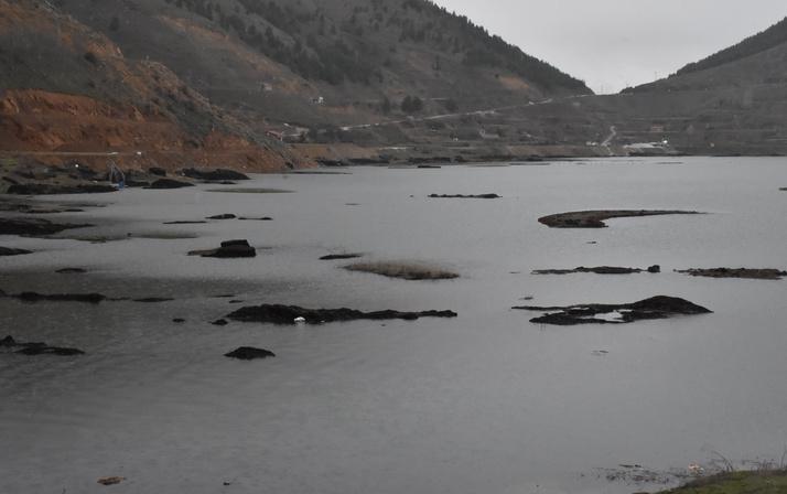 Adıyaman'da yüzen adalar görenleri şaşkına çeviriyor