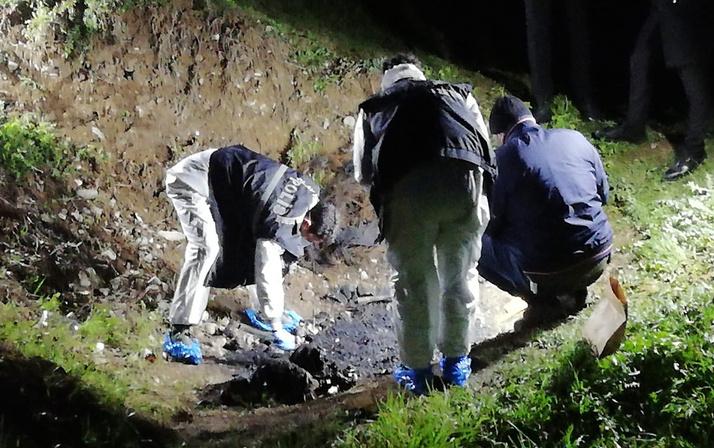 Tokat'ta bulunan yakılmış insan kemikleri İstanbul'a gönderildi