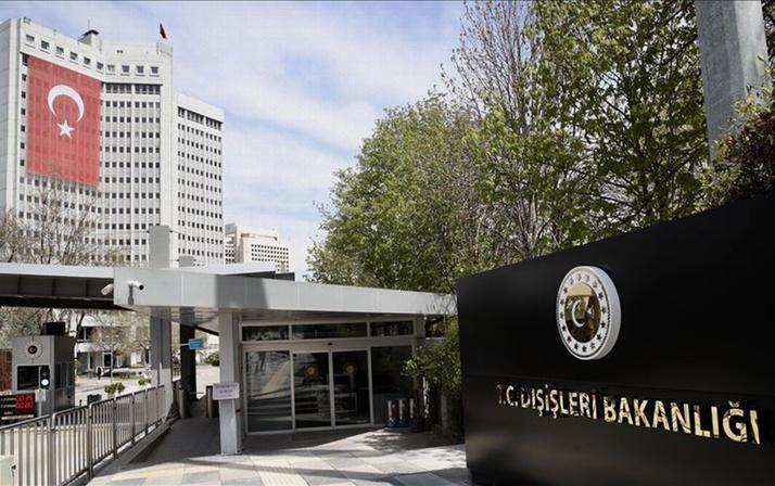 Türkiye'den ABD'nin kararına sert tepki: Tehdit ve yaptırım dili kabul edilemez