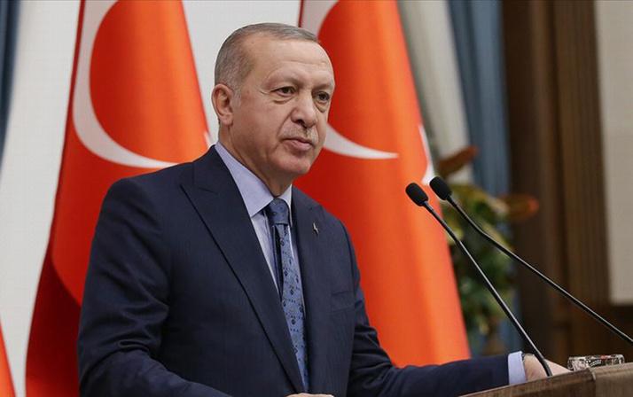 Başkan Erdoğan'dan Prof. Dr. Ahmet Haluk Dursun için taziye mesajı