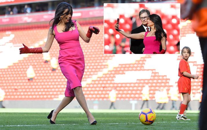 Sahadaki esmer güzeli Liverpool'un sahibi John Henry'nin eşi çıktı!