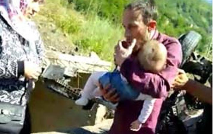 Minik kızına son kez sarıldı... Bırakmak istemedi! Hastanede yaşamını yitirdi
