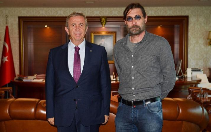 Erdal Beşikçioğlu'dan Mansur Yavaş'a sürpriz ziyaret
