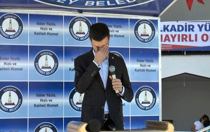 Ak Parti Gaziantep milletvekili Müslüm Yüksel'i hüngür hüngür ağlatan açılış