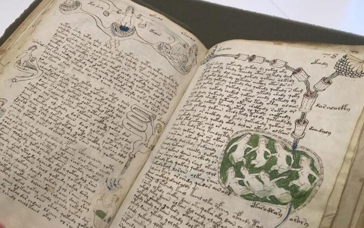 Dünyanın en gizemli kitabı Voynich El Yazması'ndan seks tavsiyesi çıktı!