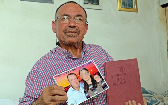 Antalya'da 130 bin lira dolandırılan Nasuh Özer'den veresiye aşk defteri