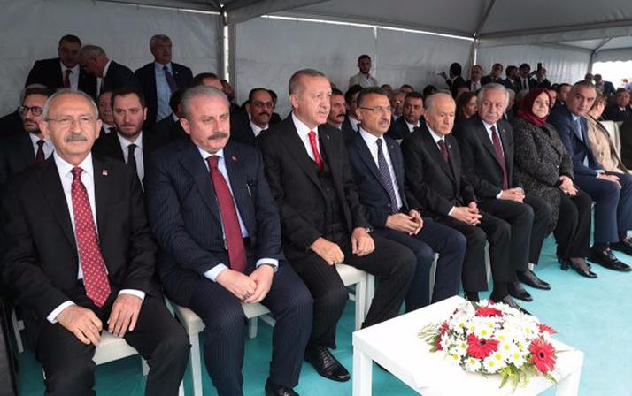 19 Mayıs'ın 100 yıl dönümünde bütün liderler Samsun'da buluştu
