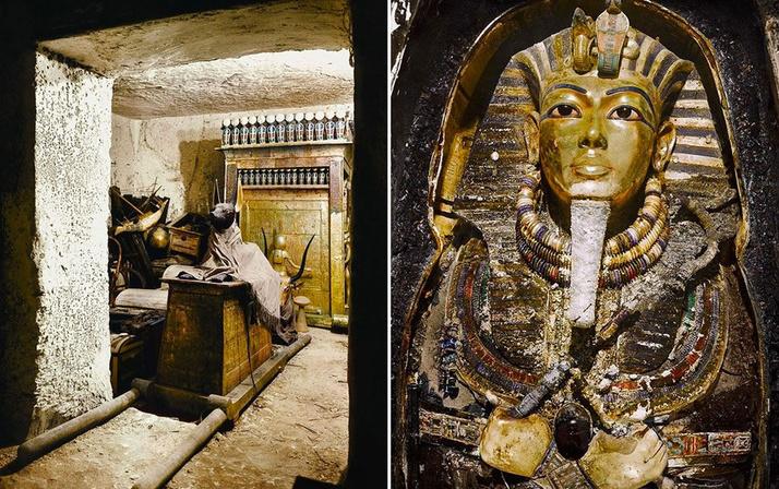 Tutankhamun'un mezarındaki bir sır daha çözüldü